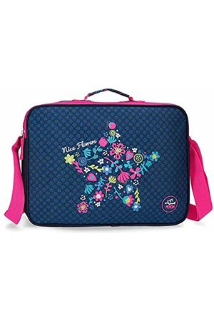 MOVOM Nice Flowers School Backpack 38 Centimeters 6.38 (Multicolor)