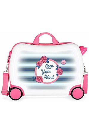 Roll Road Rose Children's Luggage 50 centimeters 34 (Multicolor)