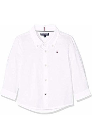 Tommy Hilfiger Boys Stretch Oxford Shirt L/s Blouse, Bright 123
