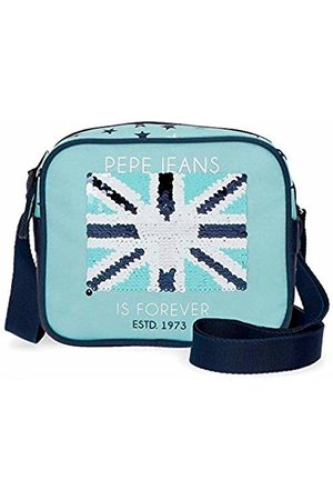 Pepe Jeans Cuore Messenger Bag 18 Centimeters 1.35 (Azul)