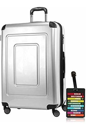 Happy Trolley Lugano Hand Luggage 76 Centimeters 113 (Silber)