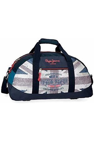 Pepe Jeans Ian Travel Duffle 50 Centimeters 27 (Azul)