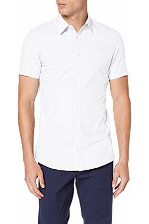 s.Oliver Men's 30.906.22.2230 Formal Shirt, Dobby 01k2
