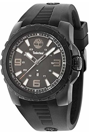 Timberland Men's TBL.94471AEU/02PA Quartz Watch with Dial Analogue Display and Silicone Strap
