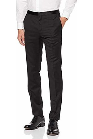 HUGO BOSS Men's Hetons Suit Trousers, 001
