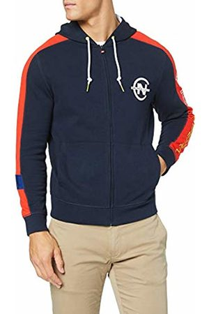Nautica Men's Competition Hoodie Sports Jumper, Navy 4NV