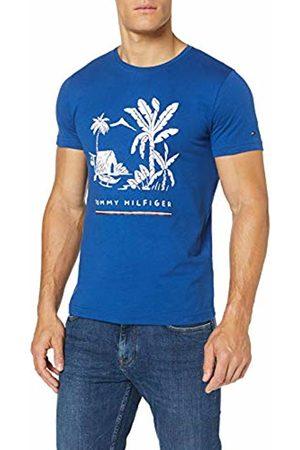 Tommy Hilfiger Men's Laguna Beach Tee Sport Top, ( Quartz 439)