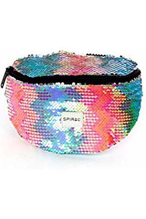 Spiral Pastel Sequins Bum Bag Sport Waist Pack, 23 cm