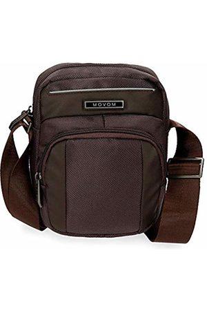 MOVOM Clark Messenger Bag 19 centimeters 2.42 (Marrón)