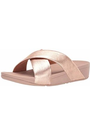 FitFlop Women's Lulu Cross Slide Open Toe Sandals