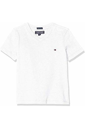 Tommy Hilfiger Boys Basic Vn Knit S/s T-Shirt, (Bright 123)