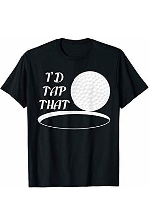 Jomqueru Golf Ball Golfer Golfing Tour Funny I'd Tap That Sport Hobby T-Shirt