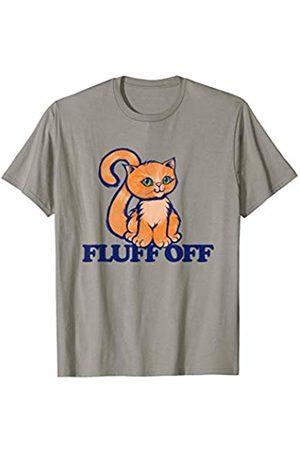 SnuggBubb Fluff off funny fluffy cat T-Shirt