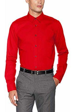 HUGO BOSS Men's Elisha01 Casual Shirt, Medium 615