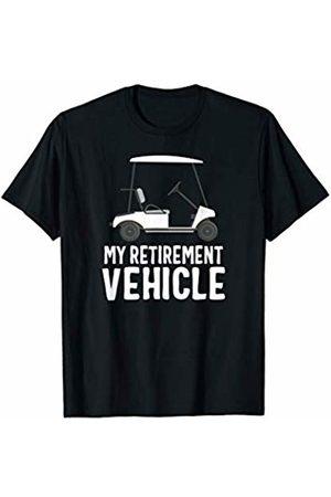 Golf CG Tees My Retirement Vehicle golf T-Shirt