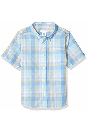 Amazon Short-Sleeve Poplin/Chambray Shirt Button