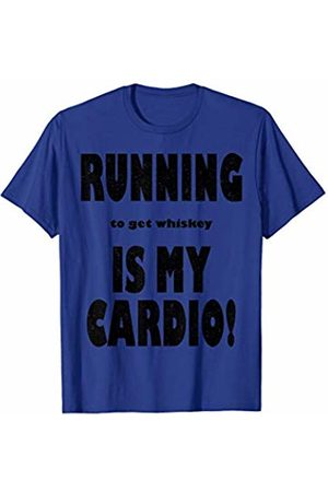 Funny Running to get Whiskey is My Cardio Shirt Vintage Running to get Whiskey is My Cardio Shirt T-Shirt