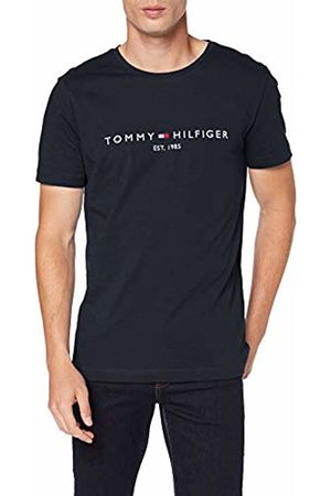 Tommy Hilfiger Men's Tommy Flag Hilfiger Tee Sports Shirt