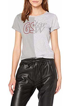 G-Star Women's Graphic 16 Mysid Slim T-Shirt, ( HTR 906)