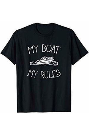 Goodtogotees My Boat My Rules T-Shirt