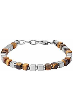 Fossil Men Stainless Steel Chain Bracelet - JF03132040