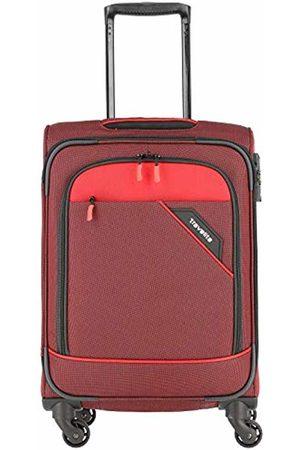 """Elite Models' Fashion Rollkoffer """"Derby"""": klassisch, robuster und Leichter Weichgepäck Trolley mit 4 Rollen in Farben Hand Luggage, 55 cm"""