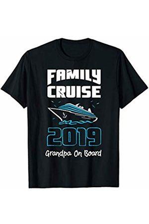My Family Cruise 2019 T-Shirts Grandpa On Board Shirt Family Cruise 2019 T-Shirt