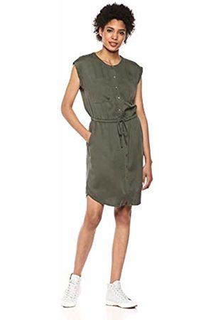 Daily Ritual Tencel Short-Sleeve Utility Dress Casual