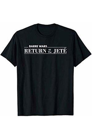 En Pointe Dance Ballet Ballerina Dancewear Designs Barre Return of The Jete Ballet Ballerina Joke Workout T-Shirt
