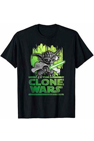 STAR WARS The Clone Wars Yoda Attack T-Shirt