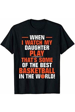 Basketball Mom Dad Designs Basketball Mom Dad Loud Proud Team Player Heart Gym Basket T-Shirt