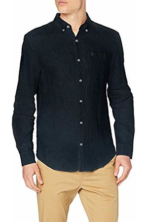 Original Penguin Men's Linen Regular Fit Casual Shirt