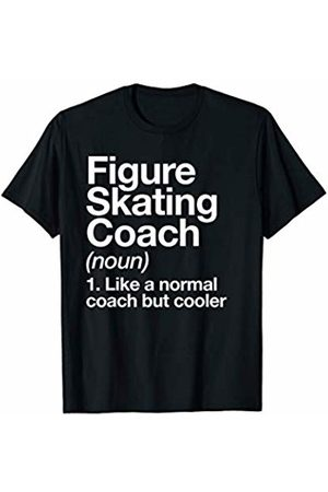 Figure Skating Coach Sports Typography Designs Men T-shirts - Figure Skating Coach Funny Sports Definition Trainer Gift T-Shirt
