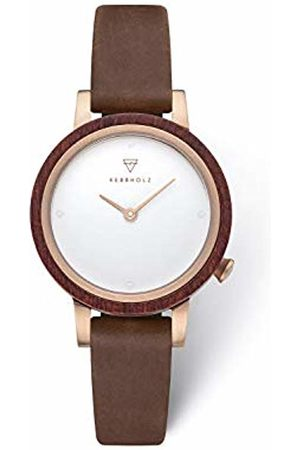 Kerbholz Women's Analogue Quartz Watch with Leather Strap 4.25124E+12