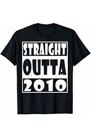 Straight Outta birthday funny t shirt Straight Outta 2010 T-Shirt