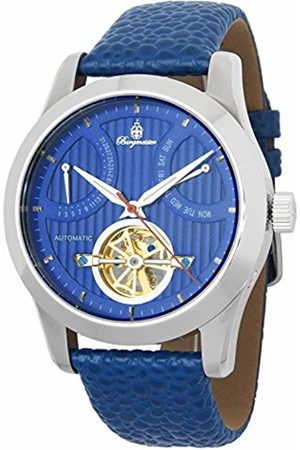 Burgmeister Men's Analogue Automatic Watch with Leather Strap BM224-133