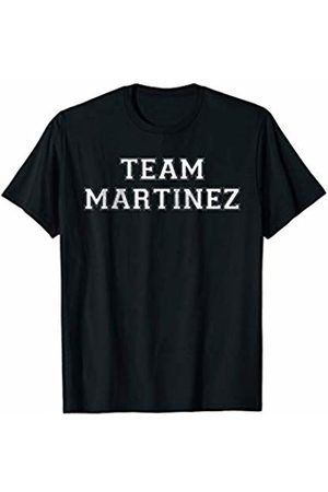 Family Team Surnames Novelty Shirts & Apparel Funny Family Sports Team Martinez Last Name Martinez T-Shirt