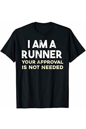 Sloth running team shirt I am a runner Your approval is not needed funny shirt T-Shirt