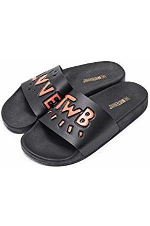 THE WHITE BRAND Women's Love Twb 3D Open Toe Sandals
