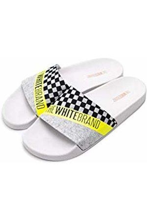 THE WHITE BRAND Unisex Kids' Thewhitebrand Open Toe Sandals, Neon
