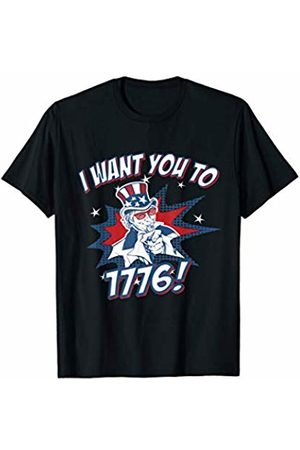 Flippin Sweet Gear I Want You To 1776 4th of July T-Shirt