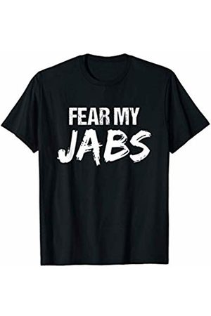 Kickboxing Time TShirts Kickboxing Workout TShirt | Fear My Jabs T-Shirt