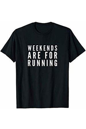 Running is Fun Apparel Weekends Are For Running Shirt, Runner Shirt