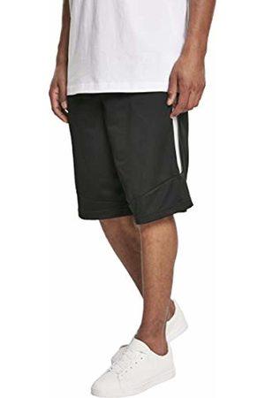 Urban classics Men's Side Taped Mesh Shorts (Blk/Gry 00029)