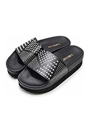 THE WHITE BRAND Women's High Moon Platform Sandals, Metallic