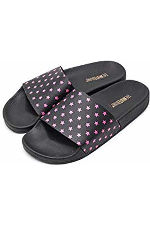 THE WHITE BRAND Women's Mini Stars Open Toe Sandals, Neon