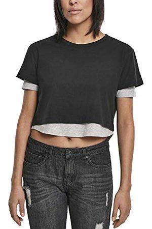 Urban classics Women's Ladies Full Double Layered Tee T-Shirt