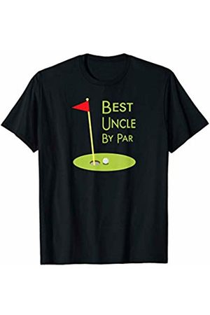 Funny Novelty Golf Gifts 3DFX Mens -Golf Themed Cool Golfing Gift Idea - Best Uncle By Par T-Shirt