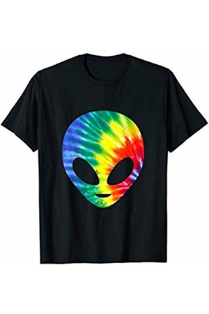 es designs Hippie Tie Dye Alien T-Shirt