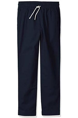 LOOK by crewcuts Boys' Pull on Chino Pant Navy